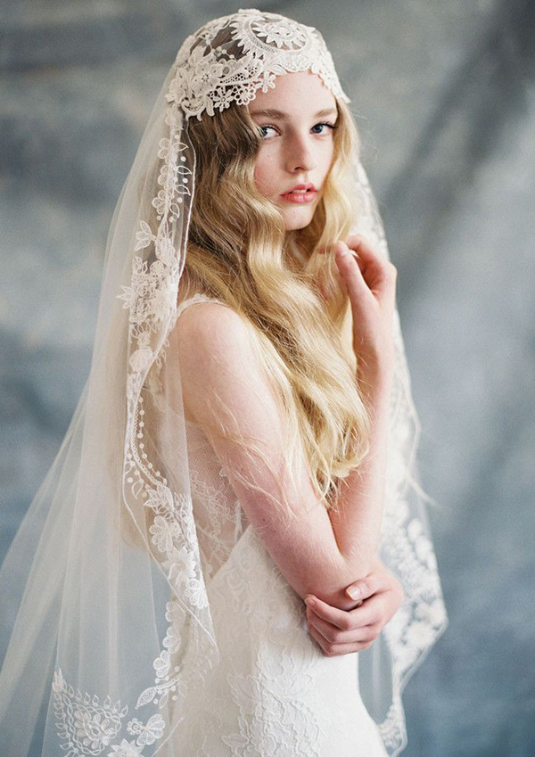 gorgeous-boho-lace-and-silk-wedding-veil-ideas