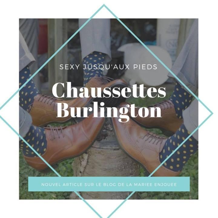 Des chaussettes Burlington pour sespetons!