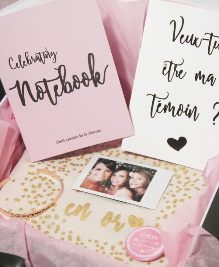 {Wedding Box} – La Weddzilla Box pour tes témoins!