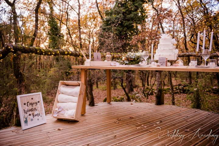 Formation Wedding Planner-Wedding Academy- Shooting d'inspiration Hivernal (107)