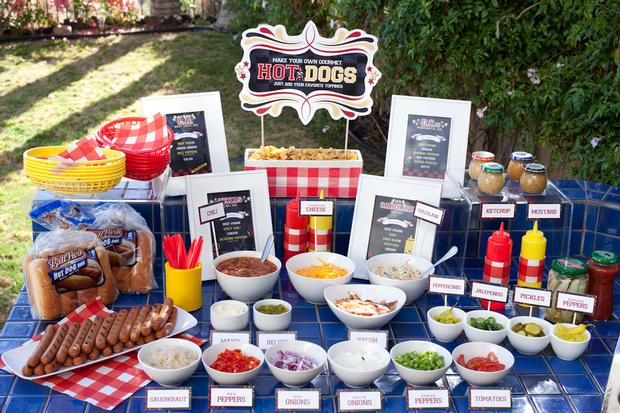 Hot-Dog-Bar-Food-Drink-Station