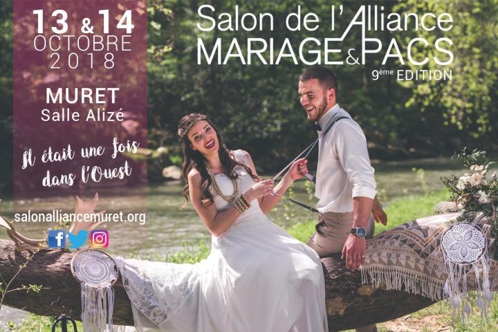 Salon de l'Alliance mariage et du Pacs de Muret nous emmène dansL'Ouest!