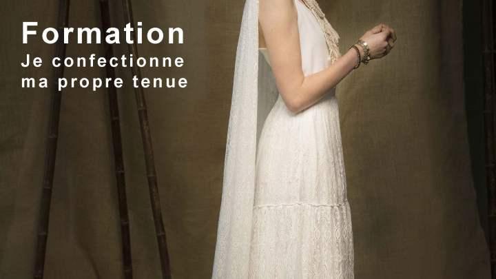 Je confectionne ma robe de mariée avec Atelier QuatrePoints